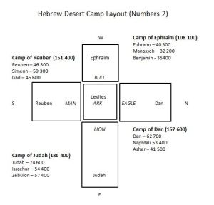 desert camp layout